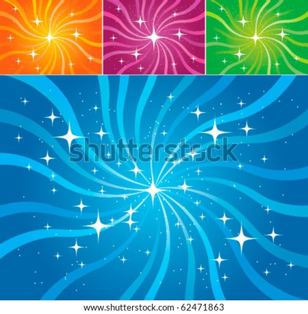 Abstract vector background (different colors) - stock vector