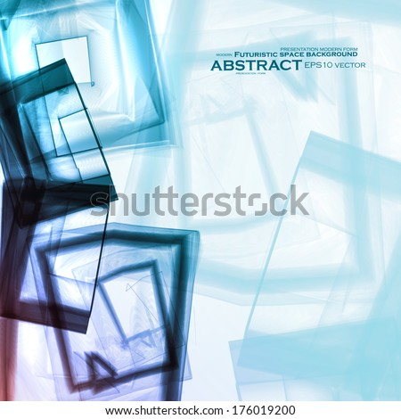 Abstract vector background, digital art illustration eps10. - stock vector