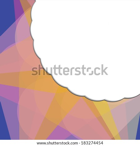 Abstract vector background 10 eps - stock vector