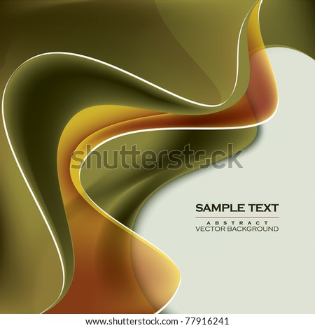 Abstract Vector Background. Eps10 Format. - stock vector