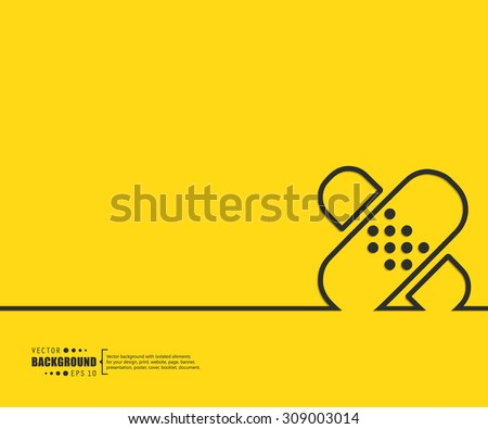 Abstract vector background. For web and mobile app, illustration template design, creative business info graphic, brochure, banner, presentation, concept poster, cover, booklet, document, line logo. - stock vector