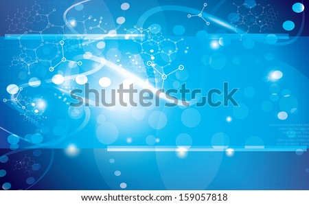 abstract vector background graphics, medical illustrations. - stock vector