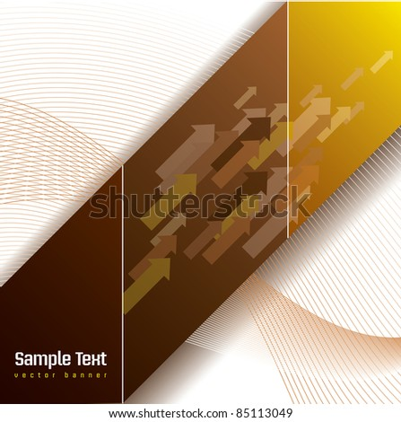 Abstract Vector Background. Illustration. - stock vector