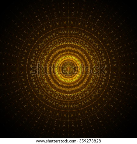 Abstract Vector Background in Art-Deco Style | EPS10 Illustratio - stock vector
