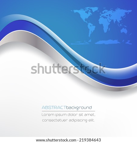Abstract vector background in blue and white/design with place for your content or creative editing