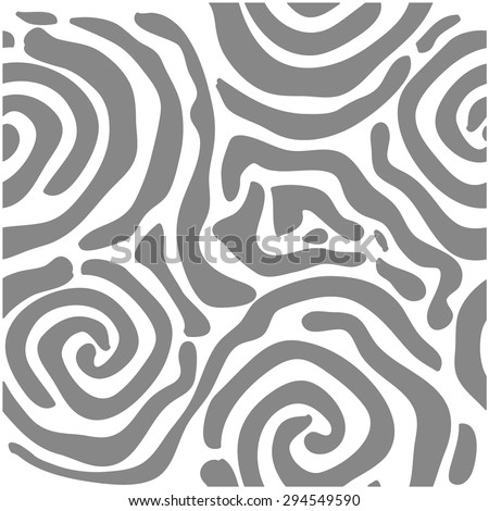 Abstract vector background. Safari art deco collection. Unusual zebra seamless pattern. African roses. Grey. Backgrounds & textures shop. - stock vector