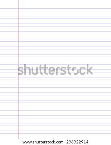 Abstract vector background. School collection. Notebook linear paper pattern. Preschool light. Backgrounds & textures shop.