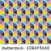 Abstract vector background, seamless - stock photo