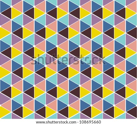 Abstract vector background, seamless