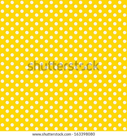 Abstract vector background. Seamless pattern. Dots. yellow background  - stock vector