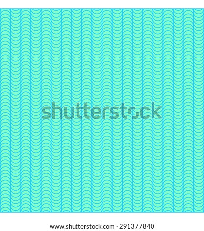 Abstract vector background. Seamless wavy pattern with stripes. Summer breeze. Turquoise. Backgrounds & textures shop. - stock vector