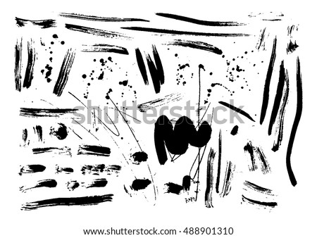 Abstract vector background set for design use. Vector illustration.