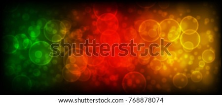 Abstract vector background with bokeh circles.