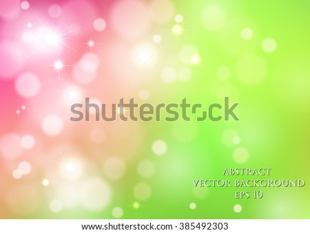 abstract vector background with bokeh effect and blur effect.