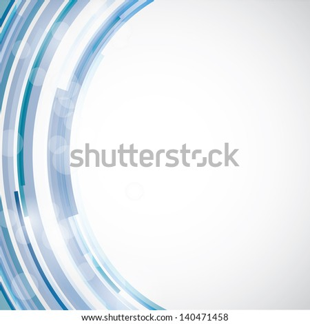 Abstract vector background with geometric elements - stock vector