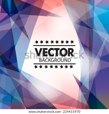 Abstract Vector background with place for your text - stock vector
