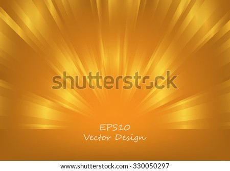 abstract vector background with shining lines and copy space. Eps10