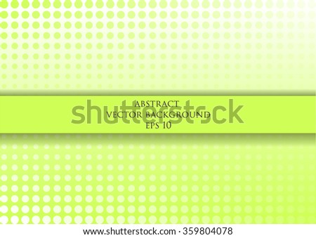 Abstract vector background with the effect halftone