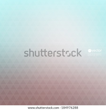 Abstract vector background with triangles and pattern of geometric shapes. for advertising, classified ads, layouts, web, internet, website, cover, booklet, magazine, banner - stock vector