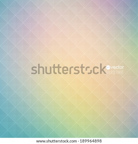 Abstract vector background with triangles and pattern of geometric shapes. for advertising, classified ads, layouts, web, internet, website, cover, booklet, magazine, banner. green, yellow, pink - stock vector