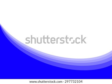 abstract vector blue background - stock vector