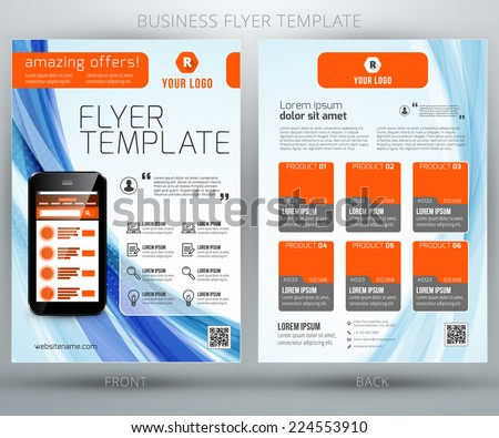 Product Flyer Template Stock Images, Royalty-Free Images & Vectors
