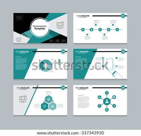 Abstract vector business presentation template slides stock vector abstract vector business presentation template slides background design fo graphic accmission