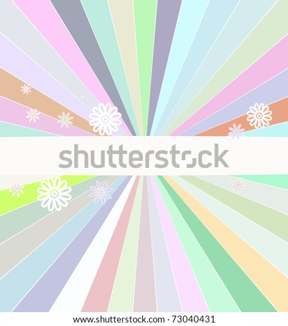 Abstract vector color cover