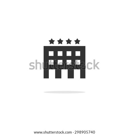 Abstract vector credit card icon flat design isolated on a white background. - stock vector