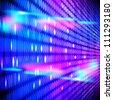 Abstract vector digital background. - stock vector