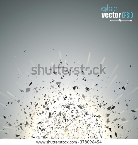 Abstract vector explosion. Eps10