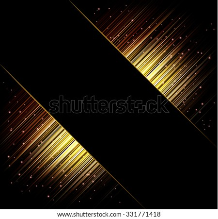 Abstract vector frame backgrounds. Rays of light eps 10 - stock vector