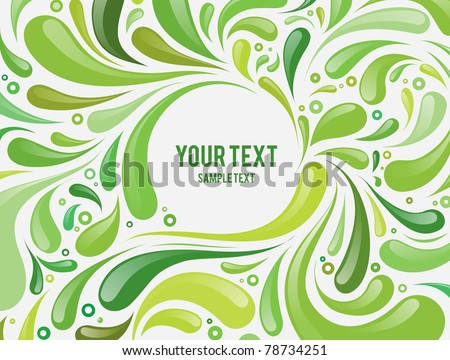 abstract vector geometric background - stock vector