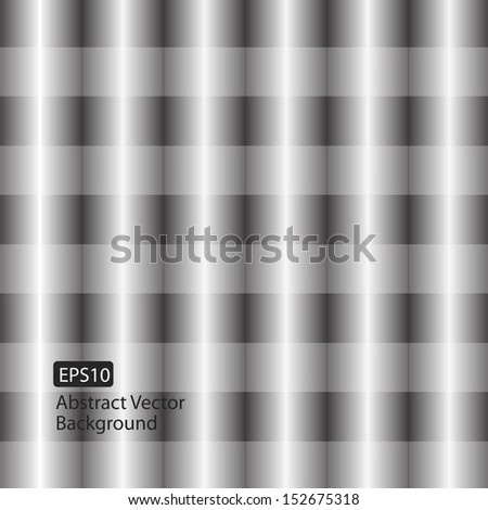 Abstract Vector Geometric Cylinder Style Background Design - stock vector