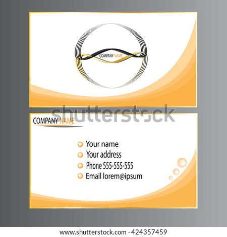 Abstract vector illustration creative business cards stock vector abstract vector illustration creative business cards set templates of visiting card reheart Images