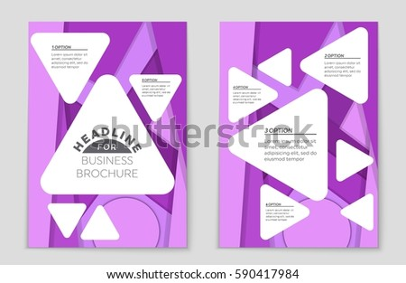 Beautiful Flower Shop A4 Bi Fold Brochure Template