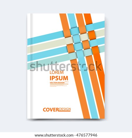 abstract vector line design cover poster stock vector 476577946