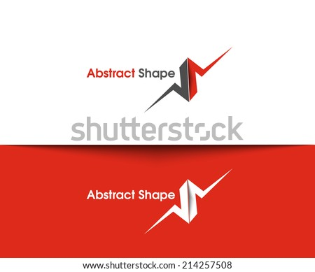 Abstract vector logo and symbol Design  - stock vector