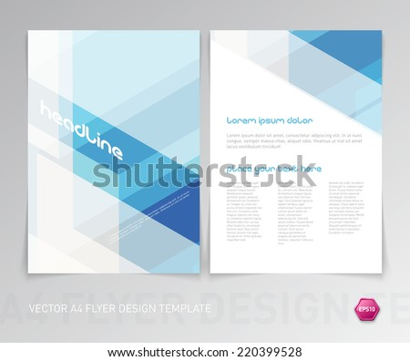 hawaii brochure template - flyer design stock images royalty free images vectors