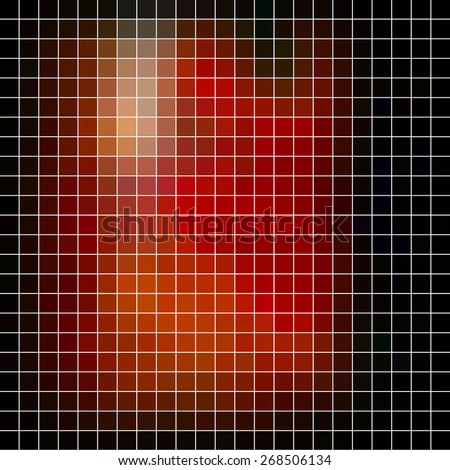 Abstract vector mosaic - stock vector
