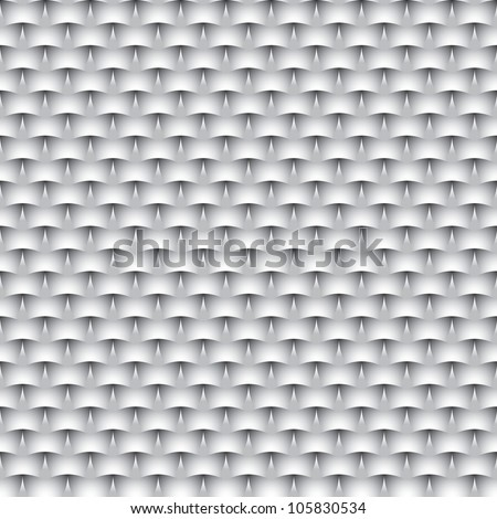 Abstract vector seamless Monochrome background - eps8 - stock vector