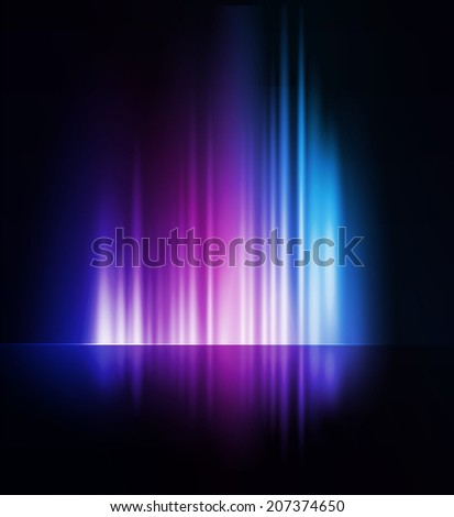Abstract vector shiny background - stock vector