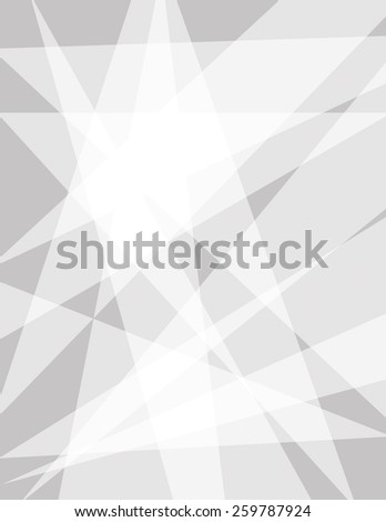 Abstract vector triangle geometric gray background - stock vector