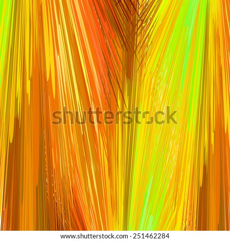 Abstract vibrant yellow background. Vector illustration, EPS10. - stock vector