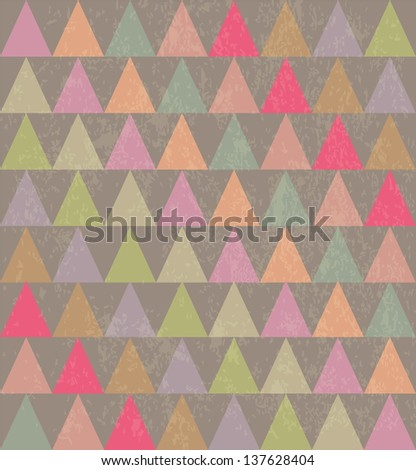 abstract vintage background - stock vector