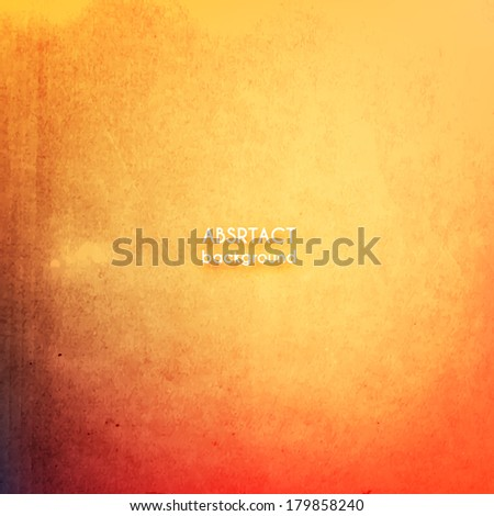 Abstract vintage grunge  paper textured background - eps10 - stock vector