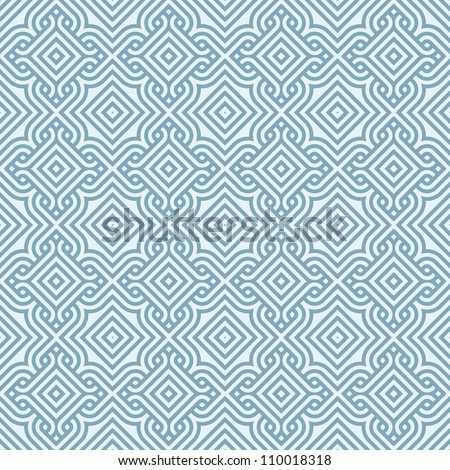abstract vintage winter wallpaper pattern seamless background. Vector illustration - stock vector