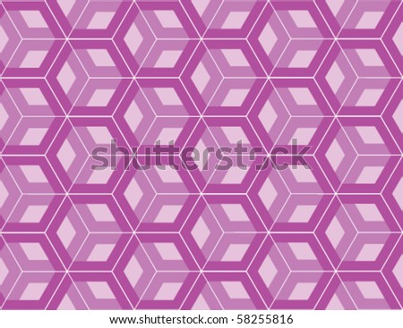 Abstract violet ornament - stock vector