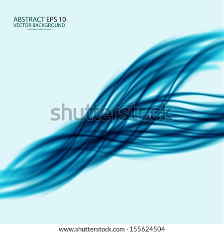 Abstract water background - stock vector