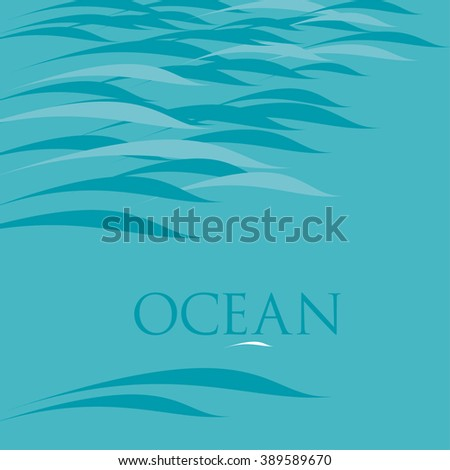 abstract water background vector illustration